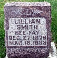 Lillian Alan Fay Smith (1879-1933) - Find A Grave Memorial