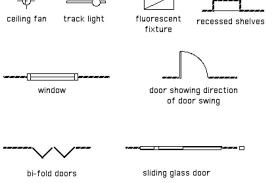 architectural floor plan symbols