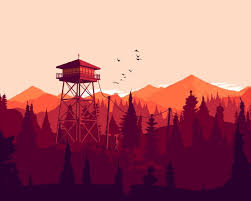 1280x1024 firewatch forest
