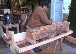 making a circular saw mill