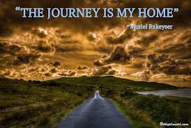 """the journey is my home "" steemit"