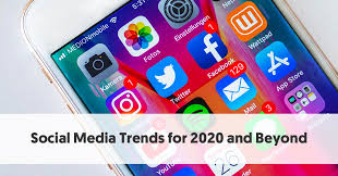 social a trends for 2020 and beyond