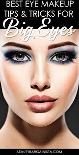 eye makeup for big eyes tutorial
