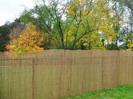 Bamboo Toronto Bamboo Fencing And Poles Reed Willow Fern Fence