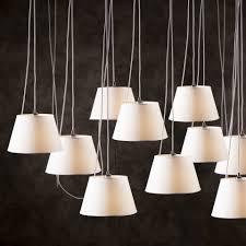 light pendant lamp chrome