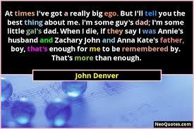 best john denver quotes
