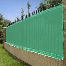 4 X50 Green Fence Screen 90 Privacy Fencing Mesh Amazon Co Uk Garden Outdoors
