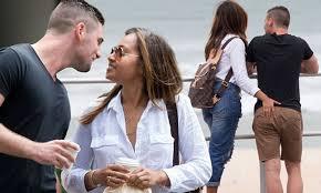 Jessica Mauboy and boyfriend Themeli ...
