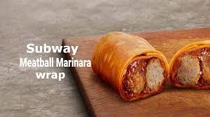 subway meatball marinara calories