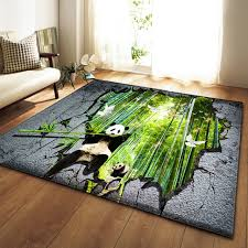 Home Decoration Large Rugs 3d Panda Elephant Carpets Kids Room Play Mat Flannel Memory Foam Area Rug Carpet For Living Room Carpet Aliexpress
