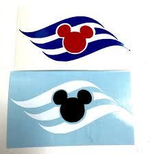 Disney Cruise Stickers Permamnet Vinyl Decals Cup Car Window Gift Stickers Vinyl Decals Disney Cruise Vinyl