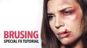 bruising fx makeup tutorial you