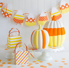 easy candy corn crafts by fawn parties