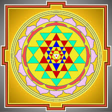 sri yantra with correct colours and design