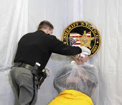 Deputies Get Pies in the Face for United Way Cause   Geauga County Maple  Leaf