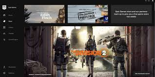 The Division 2 already on the first page of Epic Games' Store