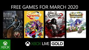 xbox games with gold march 2020 batman