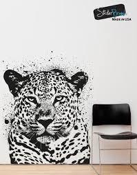 Vinyl Wall Decal Sticker Spray Paint Leopard Os Aa652 Stickerbrand