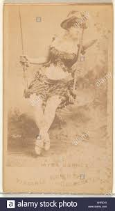 Myra Barnes, from the Actors and Actresses series (N45, Type 1) for Stock  Photo - Alamy