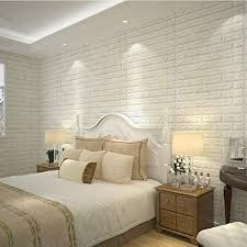 40 Pack White Brick Peel And Stick Wallpaper Home Decal 3d Brick Wall Sticker Self Adhesive Foam Wallpaper Panels Room Decal Walmart Com Walmart Com