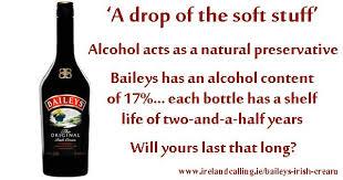 baileys irish cream silky smooth liqueur
