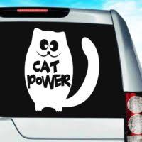 Cat Vinyl Decals Stickers Cat Decals Kitty Stickers