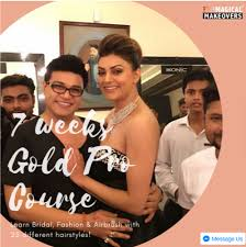 7 weeks gold pro makeup hair course