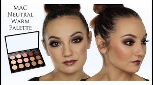 mac neutral eye makeup tutorial