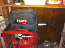 quiet down my oilless compressor