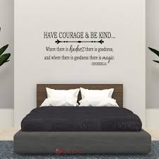 Have Courage And Be Kind Wall Art Quote Decal Nursery Home Etsy