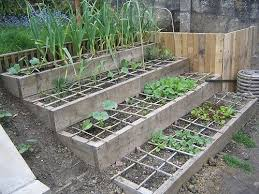 i made my bed sloped garden garden