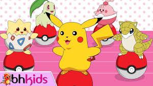 Cá Vàng Bơi - Nhạc Thiếu Nhi Hoạt Hình Pokemon Sôi Động