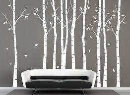 Vinyl Large White Birch Tree Wall Decal Tree Decal Nursery Birch Tree Decals Ihomeart Http Ww Nursery Wall Decals Tree Birch Tree Wall Decal Birch Tree Decal