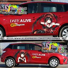 Diy 2 Pcs Waterproof Pvc Japan Acg Anime Comics Bishoujo Car Body Sticker Car Styling Accessories Decals Stickers On Cars Stickers Cactus Accessories Lanceraccessories Board Aliexpress