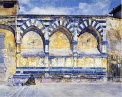 Henry Roderick Newman The Three Arches Of Santa Maria Novella Wall Decal Traditional Wall Decals By Art Megamart