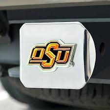 Bumper Stickers Decals Magnets Oklahoma State Pistol Pete Metal Auto Emblem Exterior Accessories Bumper Stickers Decals Magnets
