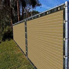 Ifence View H6n8syj Ifenceview 3 X3 To 3 X50 Beige Shade Cloth Fence Privacy Screen Fabric Mesh Net For Construction Site Yard Driveway