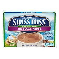 sugar free hot chocolate nutrition