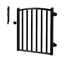 Zippity Outdoor Products Semi Permanent Black Metal Garden Fence 42 Inch Tall 5 Pack The Home Depot Canada