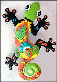 gecko wall decor metal wall art