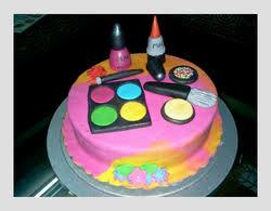 3d make up kit cake थ म क क