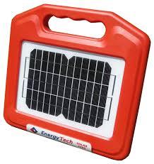 15km Electric Fence Solar Energiser Trailertech Energytech