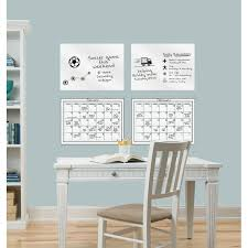Brewster Home Fashions 4 Piece Dry Erase Calendar Whiteboard Wall Decal Set Wayfair