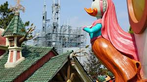 beauty and the beast ride and village