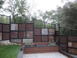 Fences Gates Hardscapes Corrugated Metal Roof Backyard Fences Corrugated Metal Fence