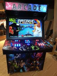 2 player 40 led home arcade game mame
