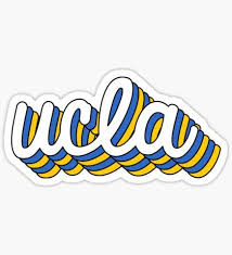 Ucla Stickers In 2020 College Stickers Ucla Ucla College