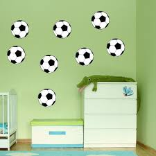 Soccer Decals For Bedroom Soccer Vinyl Wall Decals