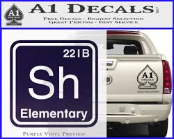 Element Of Deduction Sherlock Holmes Decal Sticker A1 Decals