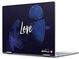 Amazon Com Skinit Decal Laptop Skin Compatible With Pixelbook Officially Licensed Disney Wall E Love Design Electronics